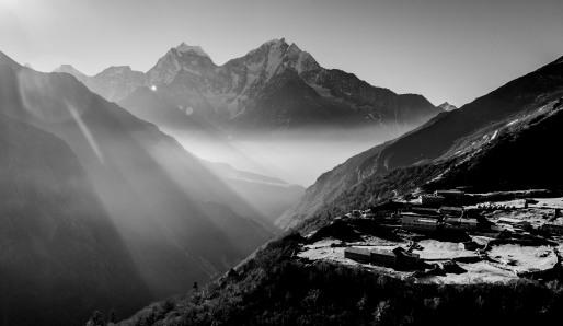 Dole, Himalayas, Nepal