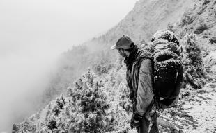 Nepal, our porter Tsingis