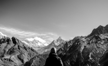 Nepal, Mt. Everest view point