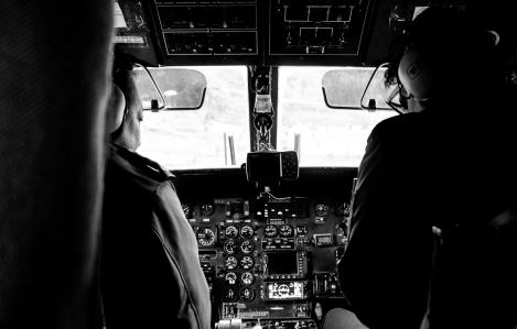 Nepal, Flight from Lukla to Kathmandu