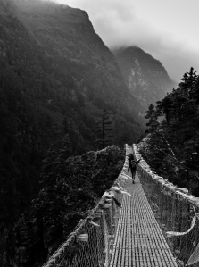 Nepal, Hillary Bridge