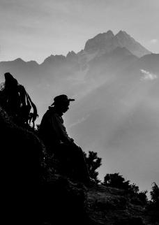 Nepal, Everest Region trekking route
